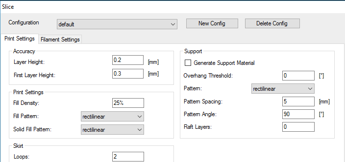 slicer-settings